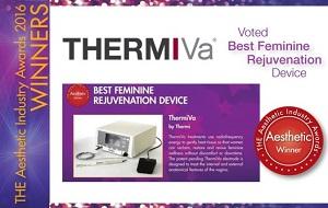 サーミバーはアメリカで膣治療の最優秀治療器として受賞